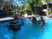 open water course in bali